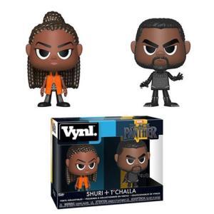 ブラックパンサー Black Panther フィギュア T'Challa and Shuri Vynl. Figure 2-Pack|fermart-hobby