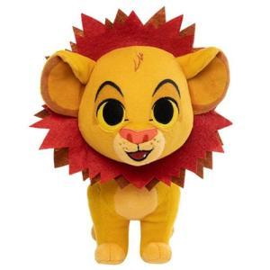 ライオン キング Lion King ぬいぐるみ・人形 Simba with Leaf Mane SuperCute Plush|fermart-hobby