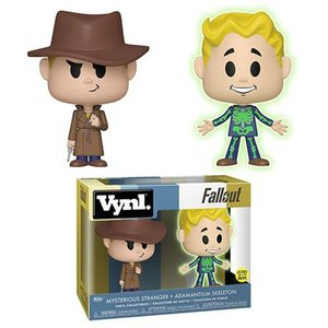 フォールアウト Fallout フィギュア Adamantium and Stranger Vynl. Figure 2-Pack fermart-hobby