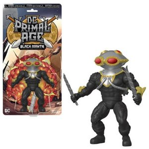 アクアマン Aquaman 可動式フィギュア Black Manta Primal Age Action Figure|fermart-hobby