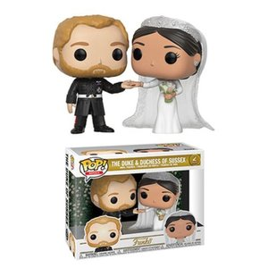 歴史上の人物フィギュア Historical Figures フィギュア Royals Duke and Duchess of Sussex Pop! Vinyl 2-Pack|fermart-hobby