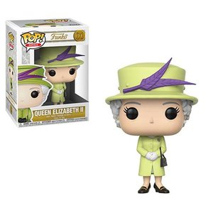 歴史上の人物フィギュア Historical Figures フィギュア Royals Queen Elizabeth II Green Pop! Vinyl Figure #01|fermart-hobby