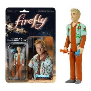 セレニティー Firefly/Serenity 可動式フィギュア Firefly Hoban Washburne ReAction 3 3/4-inch Retro Action Figure fermart-hobby