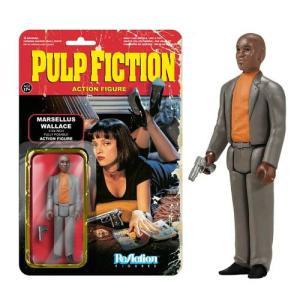 パルプ フィクション Pulp Fiction 可動式フィギュア Marsellus Wallace ReAction 3 3/4-Inch Retro Action Figure|fermart-hobby