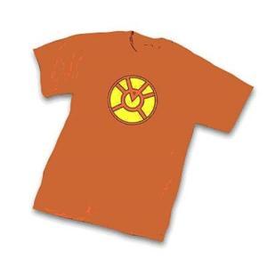 グリーンランタン グラフィティーデザインズ Graphitti Designs Green Lantern Orange Lantern Symbol T-Shirt|fermart-hobby