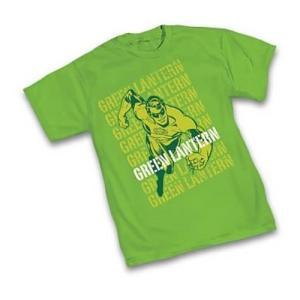 グリーンランタン グラフィティーデザインズ Graphitti Designs Green Lantern Retro T|fermart-hobby