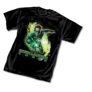 グリーンランタン グラフィティーデザインズ Graphitti Designs Green Lantern Movie Corps T|fermart-hobby