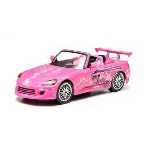 ワイルド スピード 2 Fast 2 Furious Movie Honda S2000 1:43 Scale Die-Cast Metal Vehicle|fermart-hobby
