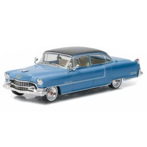 エルヴィス プレスリー Elvis Presley グッズ 1955 ''Blue Cadillac'' Fleetwood Series 60 1:43 Scale Die-Cast Metal Vehicle fermart-hobby
