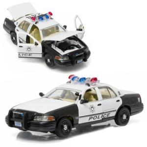 ハングオーバー The Hangover グッズ 2000 Ford Crown Victoria Police Interceptor 1:43 Scale Die-Cast Metal Vehicle|fermart-hobby