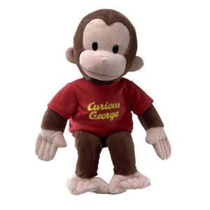 おさるのジョージ Curious George ぬいぐるみ・人形 in Red Shirt 16-Inch Plush fermart-hobby