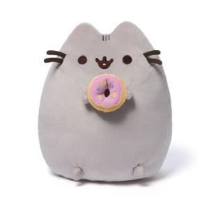 プシーン Pusheen ぬいぐるみ・人形 the Cat with Donut Plush|fermart-hobby