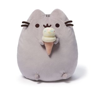 プシーン Pusheen ぬいぐるみ・人形 the Cat with Ice Cream Cone Plush|fermart-hobby