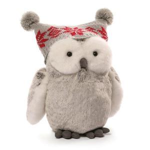 クリスマス Christmas ぬいぐるみ・人形 Twinkles Snow Owl 9-Inch Plush|fermart-hobby