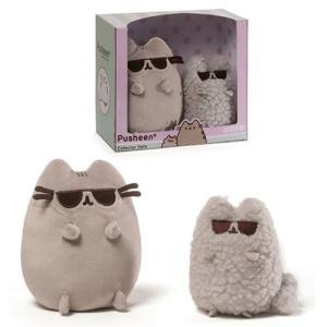 プシーン Pusheen ぬいぐるみ・人形 the Cat Sunglasses Collector Set Plush|fermart-hobby