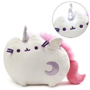 プシーン Pusheen ぬいぐるみ・人形 the Cat Super icorn 10-Inch Plush|fermart-hobby