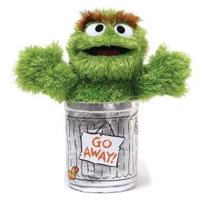 セサミストリート Sesame Street ぬいぐるみ・人形 Oscar the Grouch 10-Inch Plush|fermart-hobby