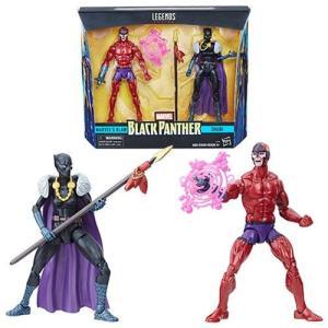 ブラックパンサー Black Panther 可動式フィギュア Marvel Legends Shuri and Klaw 6-Inch Action Figures - Toys R Us Exclusive|fermart-hobby