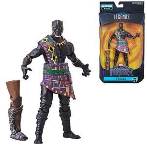 ブラックパンサー Black Panther 可動式フィギュア Marvel Legends 6-Inch T'Chaka Action Figure|fermart-hobby