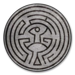 ウエストワールド Westworld グッズ Maze Round Fleece Blanket fermart-hobby