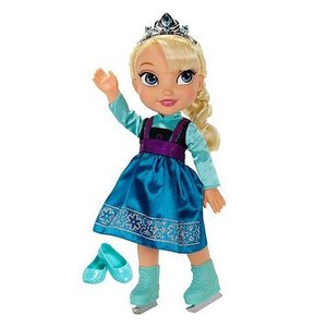 アナと雪の女王 アナ雪 ジャックスパシフィック Jakks Pacific Disney Frozen Elsa Ice Skating Toddler Doll|fermart-hobby