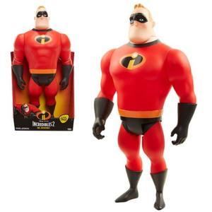 Mr.インクレディブル Incredibles 可動式フィギュア 2 Mr. Incredible 18-Inch Big Fig Action Figure|fermart-hobby