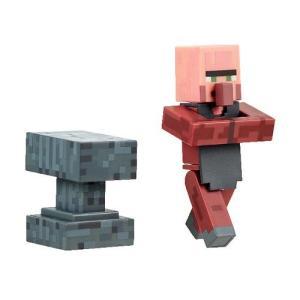 マインクラフト マイクラ ジャズウェアーズ Jazwares Minecraft Blacksmith Villager with Accessory 3|fermart-hobby
