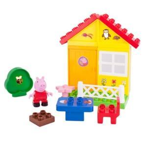 ペッパピッグ ジャズウェアーズ Jazwares Peppa Pig Peppa's Garden House Construction Playset|fermart-hobby