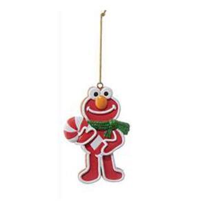 セサミストリート Sesame Street グッズ Gingerbread Elmo 3 1/2-Inch Ornament|fermart-hobby
