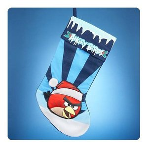 アングリーバード アングリーバーズ カートS アンダー Kurt S. Adler Angry Birds Applique Stocking|fermart-hobby
