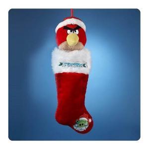 アングリーバード アングリーバーズ カートS アンダー Kurt S. Adler Angry Birds Plush Head Stocking|fermart-hobby