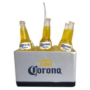 コロナ カートS アンダー Kurt S. Adler Corona Extra Cooler 3-Inch Resin Ornament|fermart-hobby
