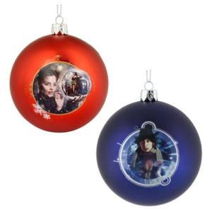 ドクター フー Doctor Who グッズ Shatterproof 3 1/4-Inch Ball Ornament Set|fermart-hobby