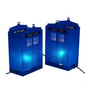 ドクター フー カートS アンダー Kurt S. Adler Doctor Who TARDIS Luminary Outdoor Decor|fermart-hobby