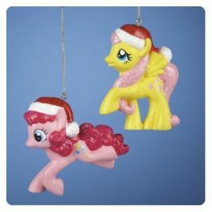 マイリトルポニー カートS アンダー Kurt S. Adler My Little Pony Figural Christmas Ornament Set|fermart-hobby