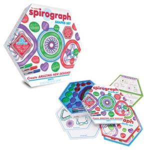 スピログラフ カーフッズ トイズ Kahootz Toys Spirograph Shapes Set|fermart-hobby