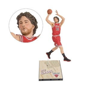 バスケットボール マクファーレントイズ McFarlane Toys NBA SportsPicks Series 27 Pau Gasol Action Figure|fermart-hobby