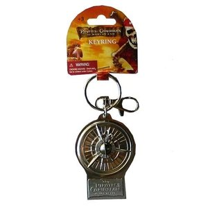 パイレーツ オブ カリビアン モノグラム Monogram Pirates of the Caribbean 3 Compass Pewter Key Chain|fermart-hobby