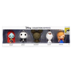 ディズニー モノグラム Monogram Disney 3D Foam Key Chain Collector 5-Pack - San Diego Comic-Con 2015 Exclusive|fermart-hobby