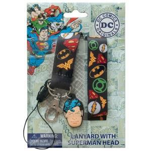 DCコミックス モノグラム Monogram DC Comics Superheroes Lanyard|fermart-hobby
