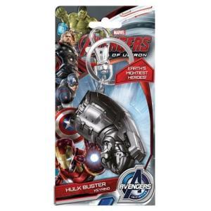 アイアンマン モノグラム Monogram Avengers: Age of Ultron Hulkbuster Fist Pewter Key Chain fermart-hobby