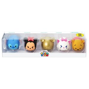 ディズニー モノグラム Monogram Disney Tsum Tsum 3D Figural Key Chain 5-Pack Set - San Diego Comic-Con 2016 Exclusive|fermart-hobby