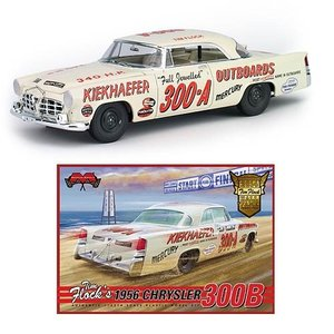 クラッシックカー メビウスモデル Moebius Models Chrysler 1956 300B Tim Flock 1:25 Scale Model Kit|fermart-hobby