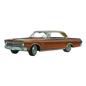 クラッシックカー メビウスモデル Moebius Models Plymouth 1965 Satellite 1:25 Scale Model Kit|fermart-hobby