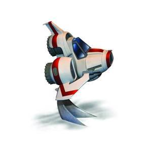 ギャラクティカ メビウスモデル Moebius Models Battlestar Galactica Super Deformed Viper MKII Model Kit|fermart-hobby