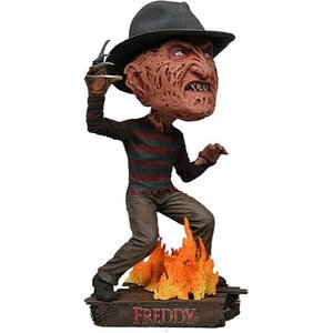 エルム街の悪夢 Nightmare on Elm Street フィギュア Freddy Krueger Head Knocker Bobble Head|fermart-hobby