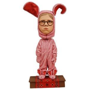 クリスマス ストーリー ネカ NECA Christmas Story Ralphie Bunny Suit Bobble Head|fermart-hobby