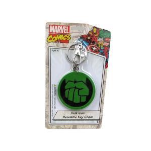 ハルク NJクローチェ Nj Croce Hulk Icon 3-Inch Bendable Key Chain|fermart-hobby