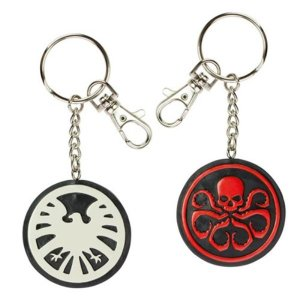 エージェント オブ シールド NJクローチェ Nj Croce Marvel Agents of S.H.I.E.L.D. vs. Hydra Bendable Key Chain|fermart-hobby