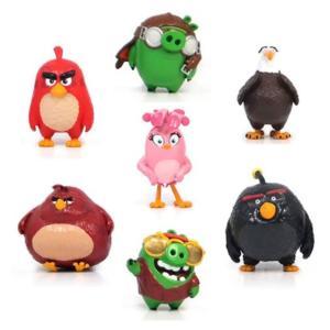 アングリーバード アングリーバーズ コモン ウェルス Commonwealth Angry Birds Movie Mini-Figure 7-Pack Set A, Not Mint|fermart-hobby